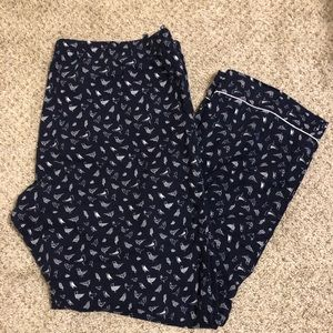 J Crew Flannel PJ pants